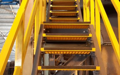 FRP Platforms Decking and Stairs