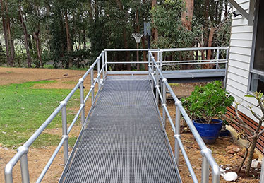 WHEELCHAIR ACCESS RAMP CASE STUDY